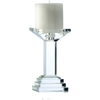 "Paris 7"" Candleholder (excludes candles) - Galway Irish Crystal"