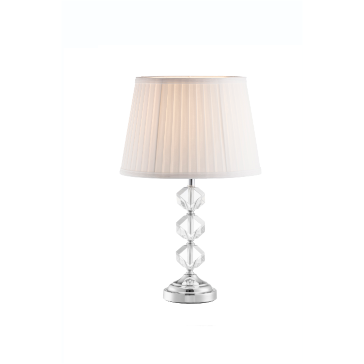 Riviera Lamp & Shade (IRL/UK Fitting) (GRV61) - Galway Irish Crystal