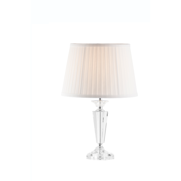Sofia Lamp & Shade (IRL/UK Fittings) - Galway Irish Crystal