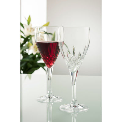 Engraved NEW Longford Red Wine Pair - Galway Irish Crystal