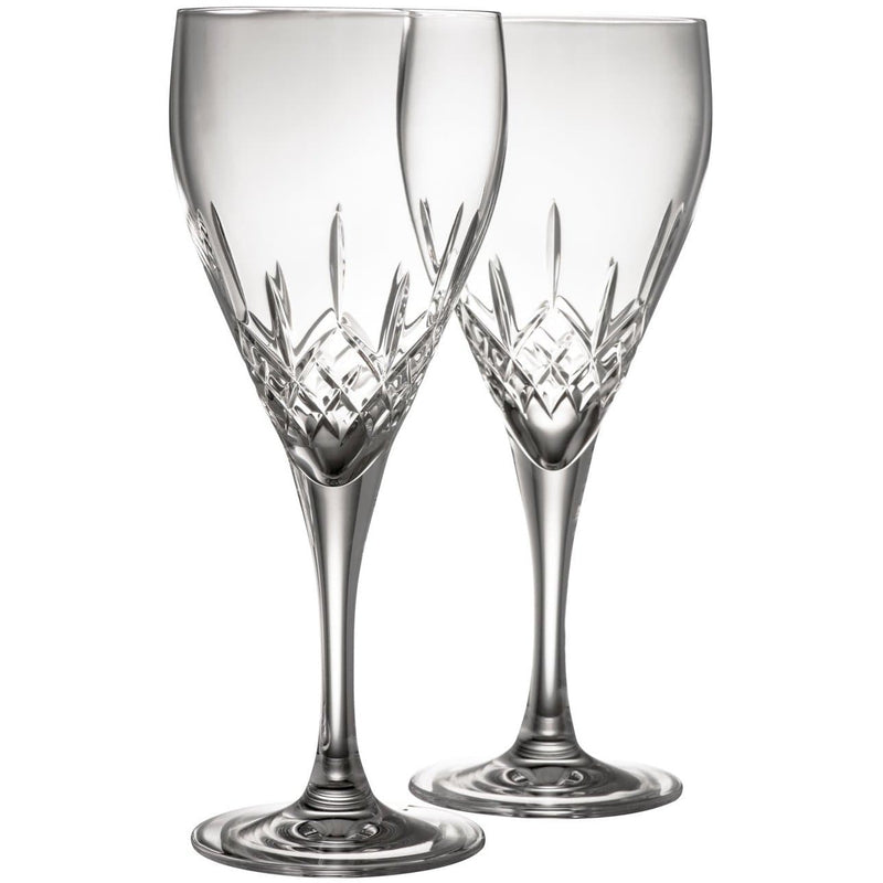 Engraved NEW Longford Red Wine Pair