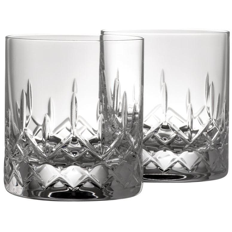 Engraved NEW Longford D.O.F/Whiskey (Pair) G222962E - Galway Irish Crystal