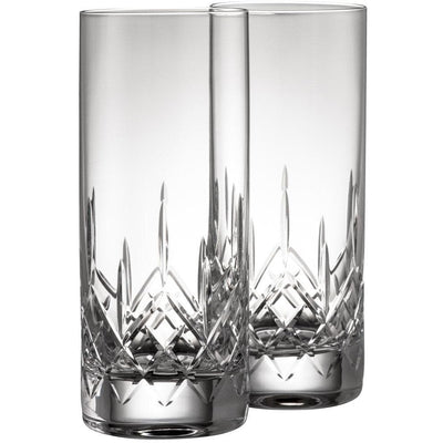 Engraved NEW Longford Hiball (Pair) G222982E - Galway Irish Crystal