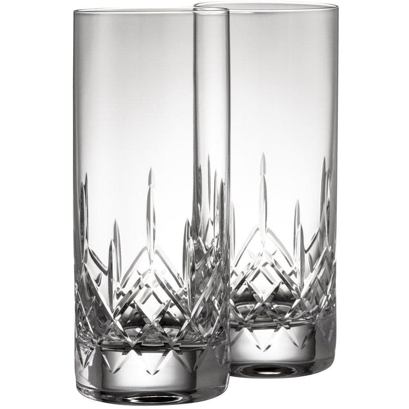 Engraved NEW Longford Hiball Pair - Galway Irish Crystal