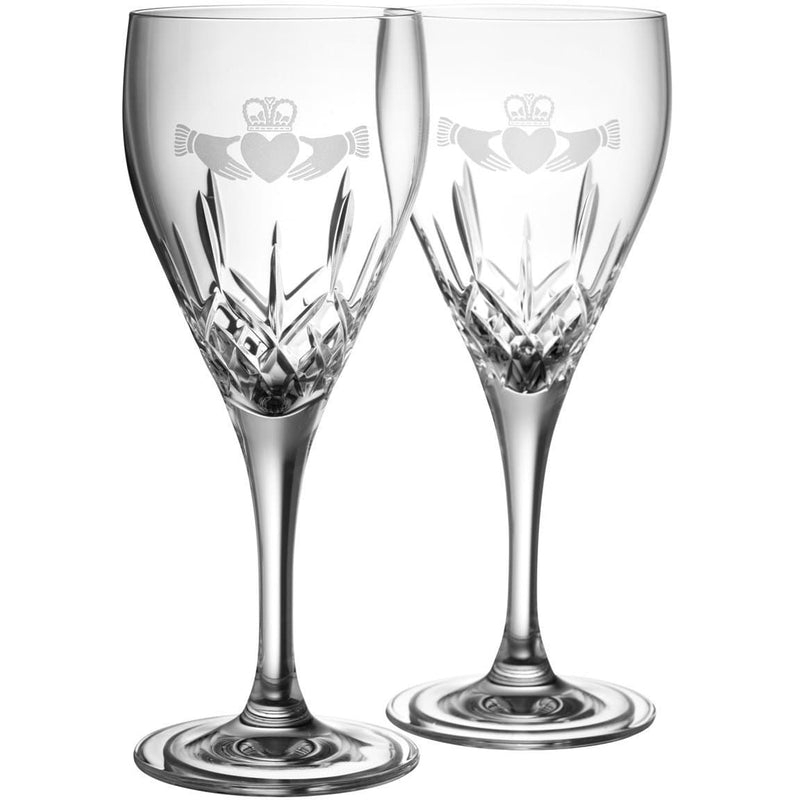 NEW Claddagh White Wine Pair G293212