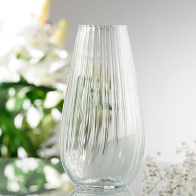 "Erne 9.5"" Vase Engraved - Galway Irish Crystal"