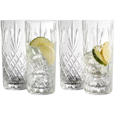Renmore Hiball Set of 4 - Galway Irish Crystal