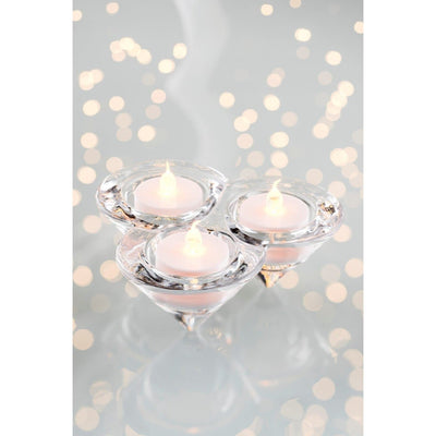 Trio Votive (LED Tealights) - Galway Irish Crystal