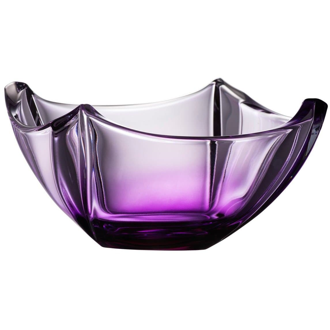 "Amethyst Dune 10"" Bowl - Galway Irish Crystal"