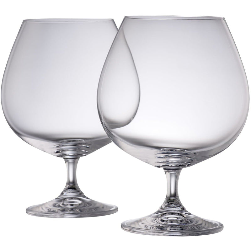 NEW Elegance Brandy Balloon Pair - Galway Irish Crystal