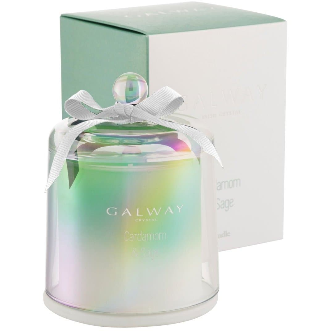 Cardamom & Sage Candle - Galway Irish Crystal