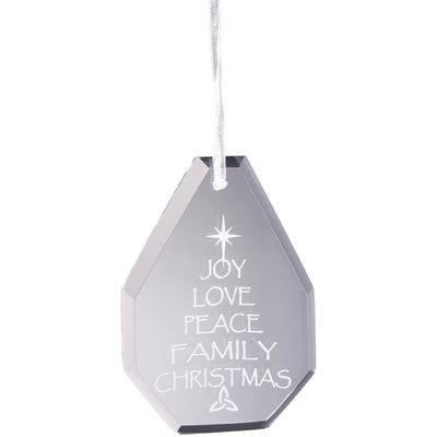 Joy Hanging Ornament - Galway Irish Crystal