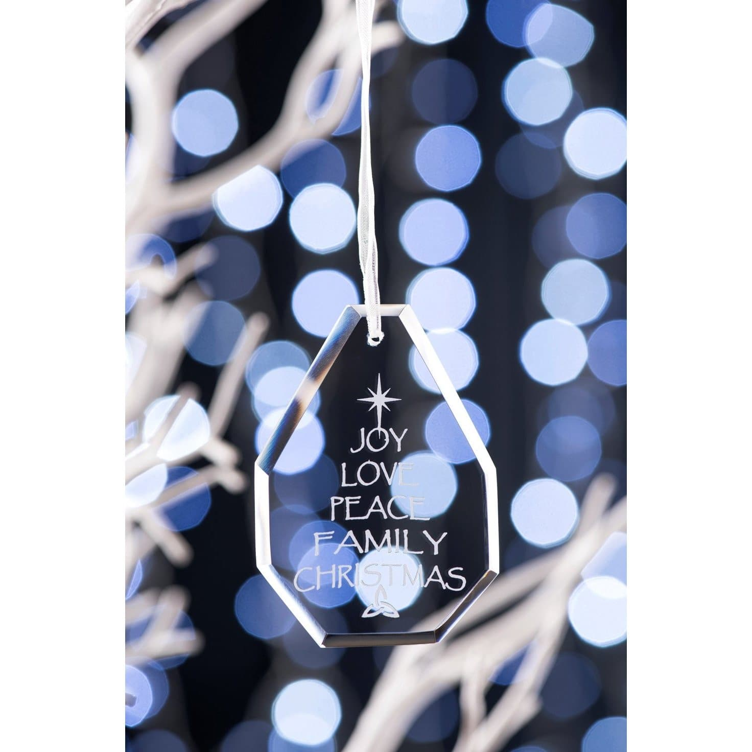 Joy Hanging Ornament GDH05 - Galway Irish Crystal