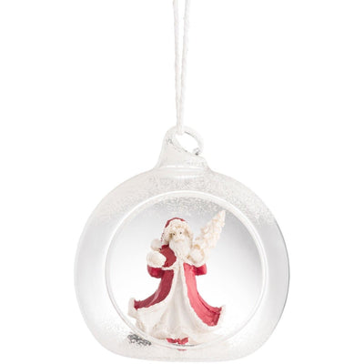 *Sold Out* NEW Santa Hanging Ornament GHO53 - Galway Irish Crystal
