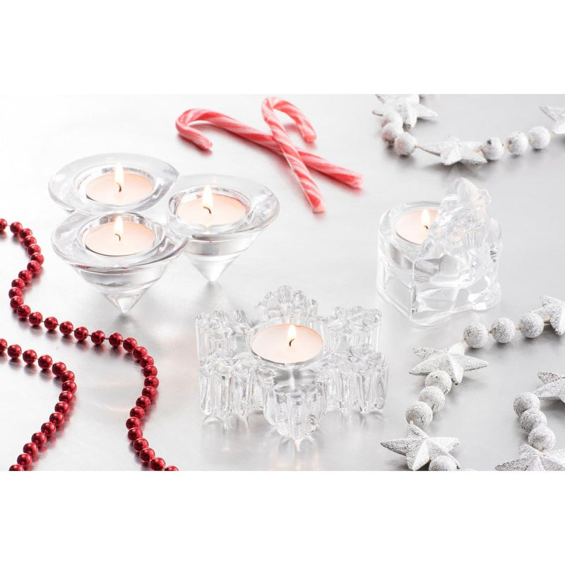 NEW Santa Votive (LED Tealight) GIC70 - Galway Irish Crystal