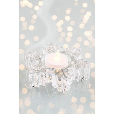 *Sold Out* NEW Snowflake Votive (LED Tealight) GIC71