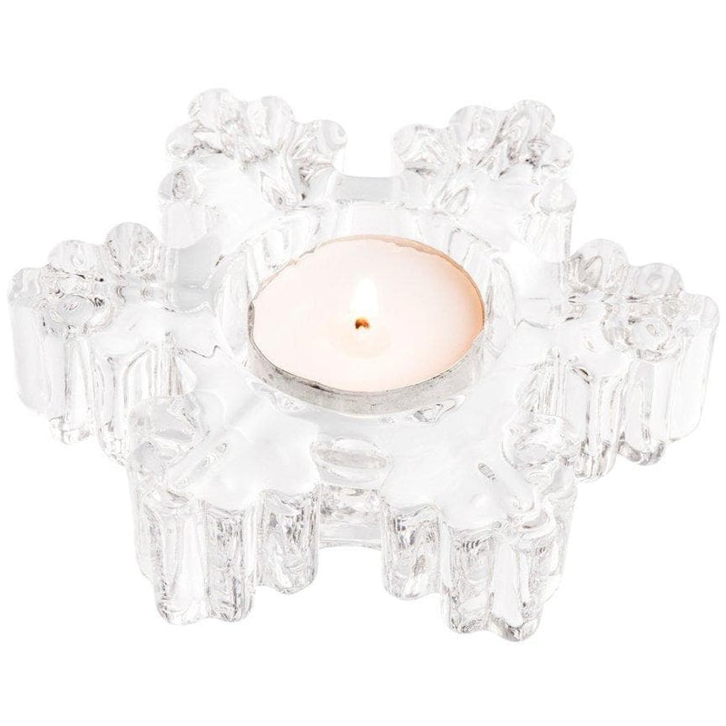 *Sold Out* NEW Snowflake Votive (LED Tealight) GIC71 - Galway Irish Crystal