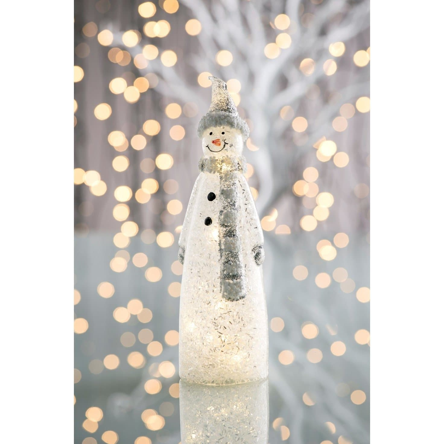 *Sold Out* NEW Snowman LED GLED01 - Galway Irish Crystal