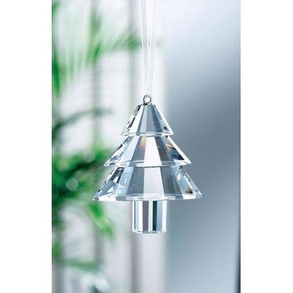 Traditional Christmas Tree Hanging Ornament GH003 - Galway Irish Crystal