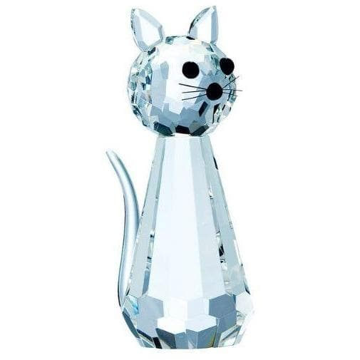Cat Standing - Galway Irish Crystal