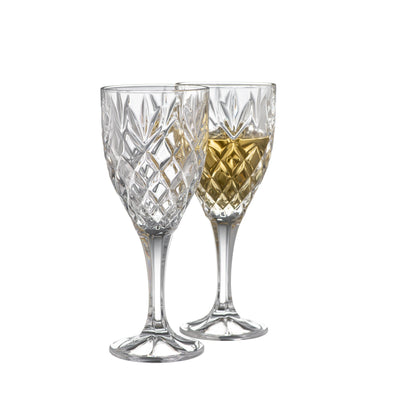 Renmore Goblet Glass Pair