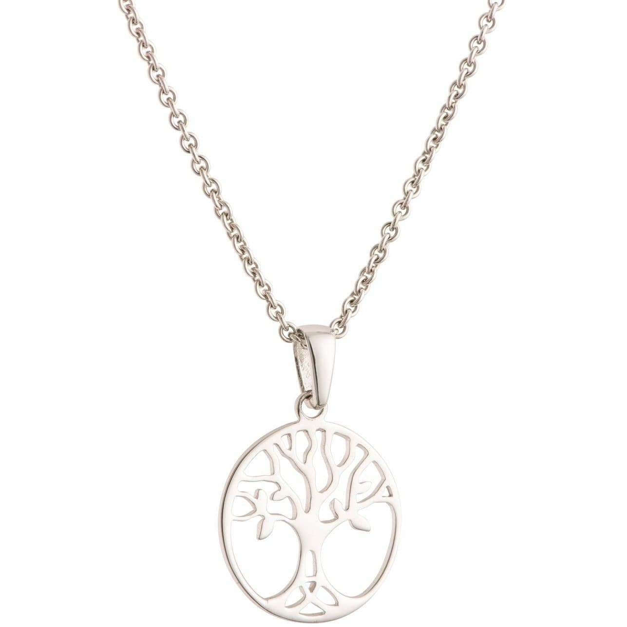 Tree Of Life Sterling Silver Pendant - Small G8106
