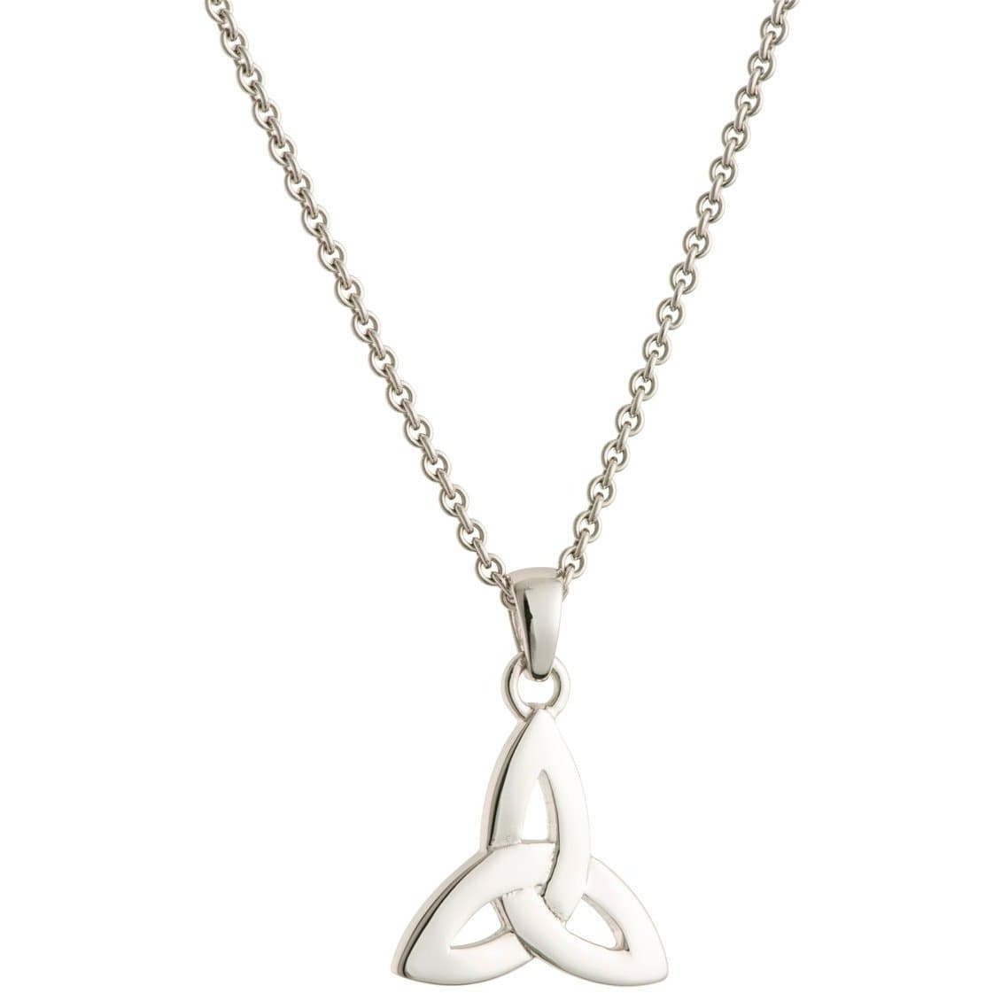 Trinity Knot Sterling Silver Pendant G8001