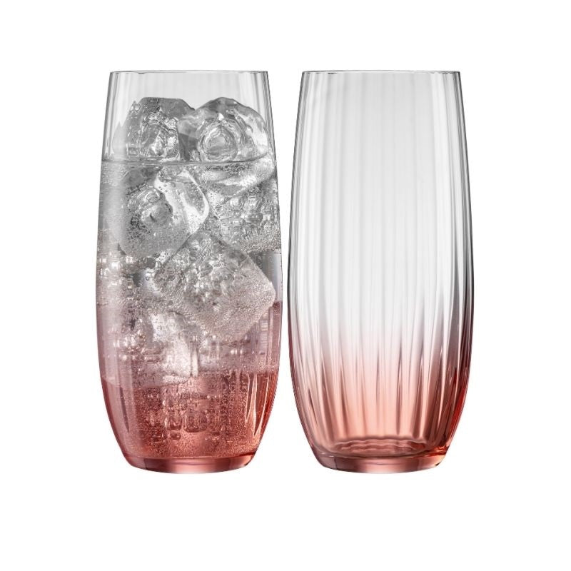 Erne Hiball Glass Pair Blush
