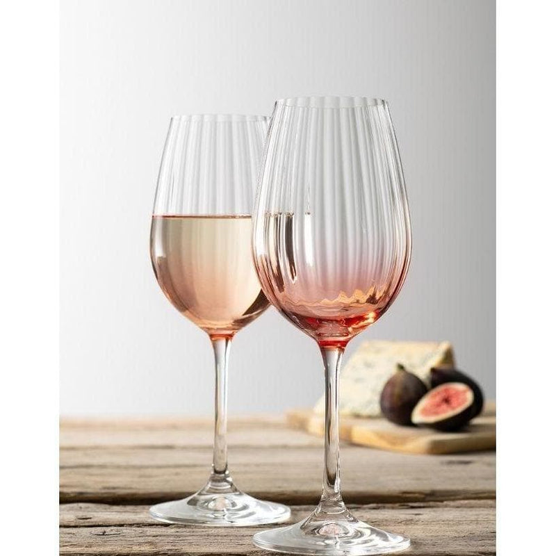 Erne Wine Glass Pair Blush