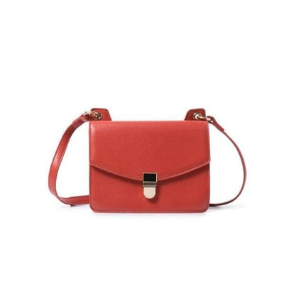 Cross Body Double sided Bag Red