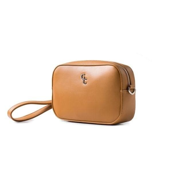 Cross Body Bag - Tan