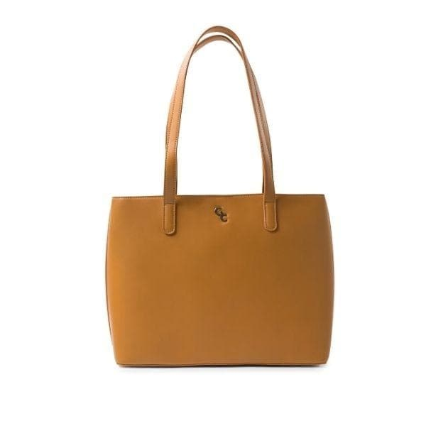 Large Tote Bag - Tan