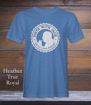Pints With Jack White Logo Large | Various Colors Available | S to 4XL