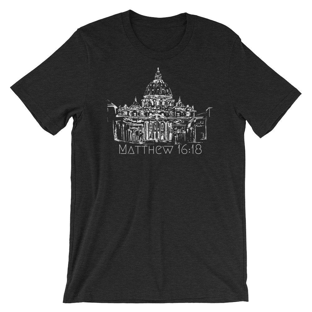 Matthew 16:18 Saint Peter's Basilica Shirt