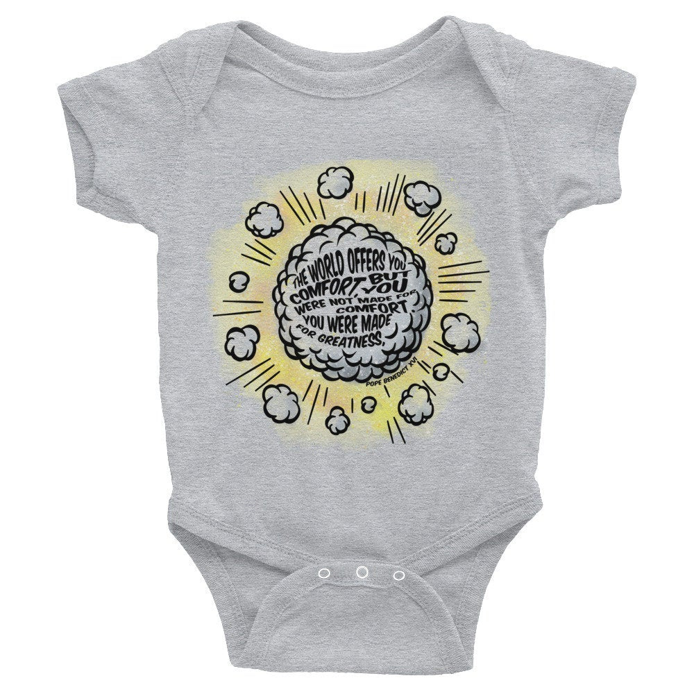 Made for Greatness Children's (Super Hero) Infant Bodysuit
