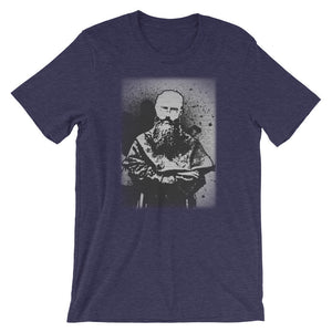 Saint Maximilian Kolbe Street Art Spray Paint Catholic Tee