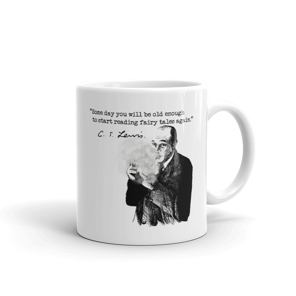 C.S. Lewis Some Day Quote Coffee Mug