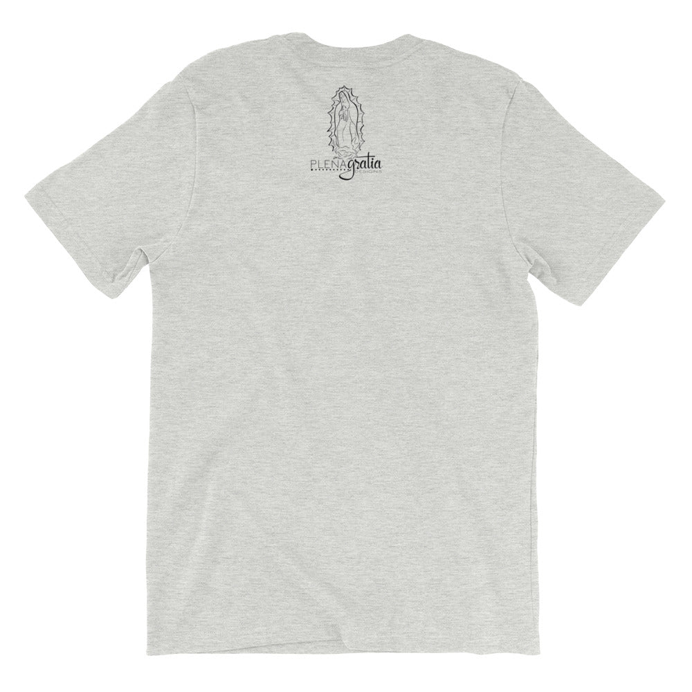 "Saint Benedict Contractor's Ora Et Labora Catholic ""Logo"" Tee"