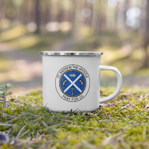 Saint Andrew the Apostle Enamel Mug