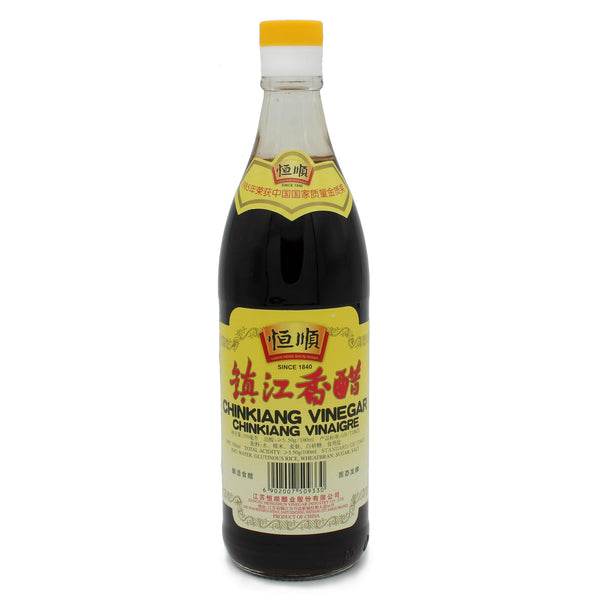 Chinkiang - Black Vinegar 550ml-LuckyCat