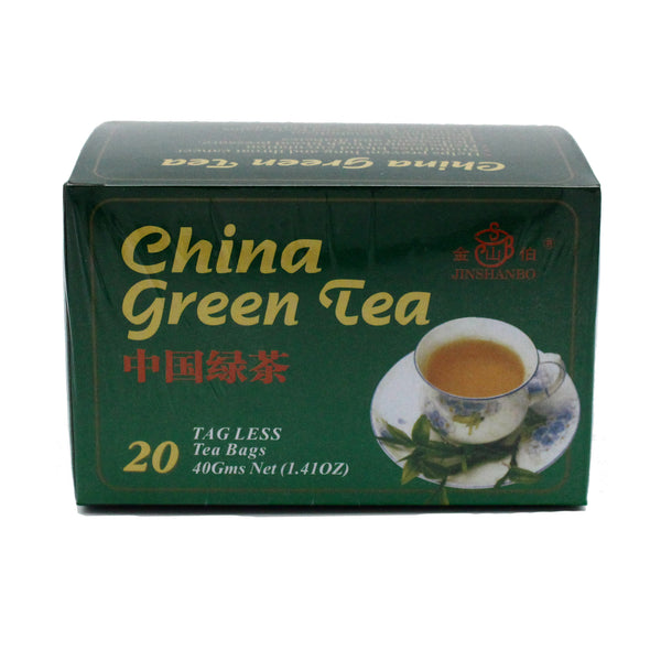 Jinshanbo - China Green Tea (20 bags)