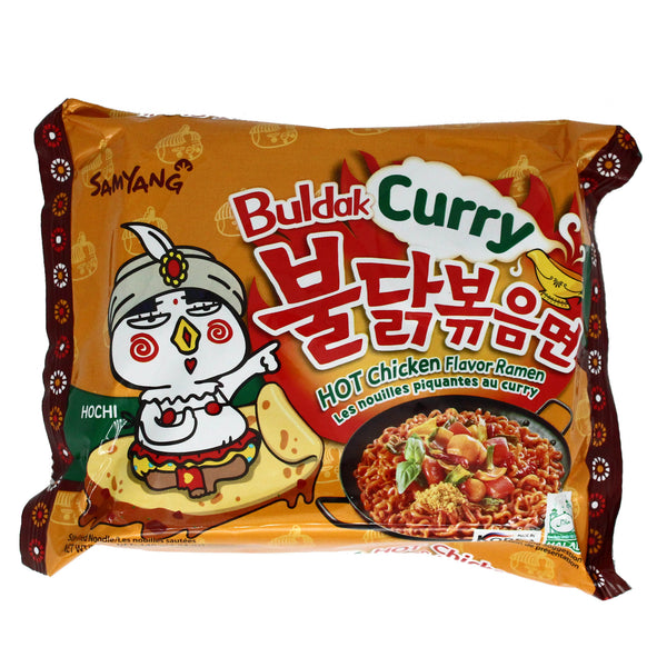 Samyang - Curry Flavour Ramen - Curry 130g (50% off on checkout)