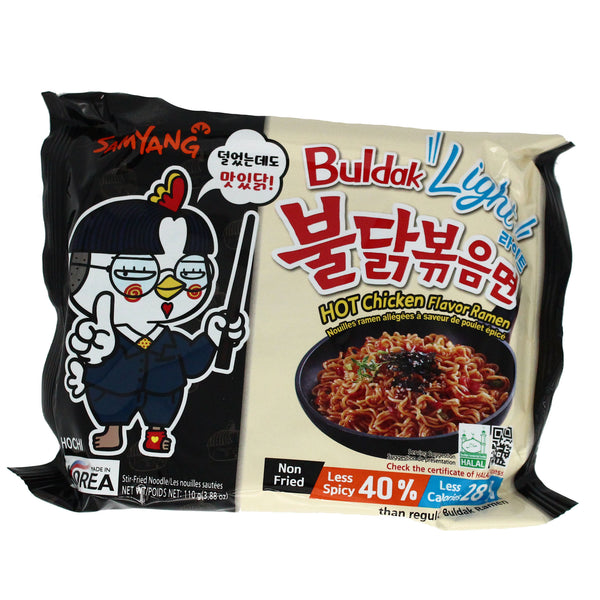 Samyang - Light Flavour Ramen - 40% Less Spicy 130g (50% off on checkout)