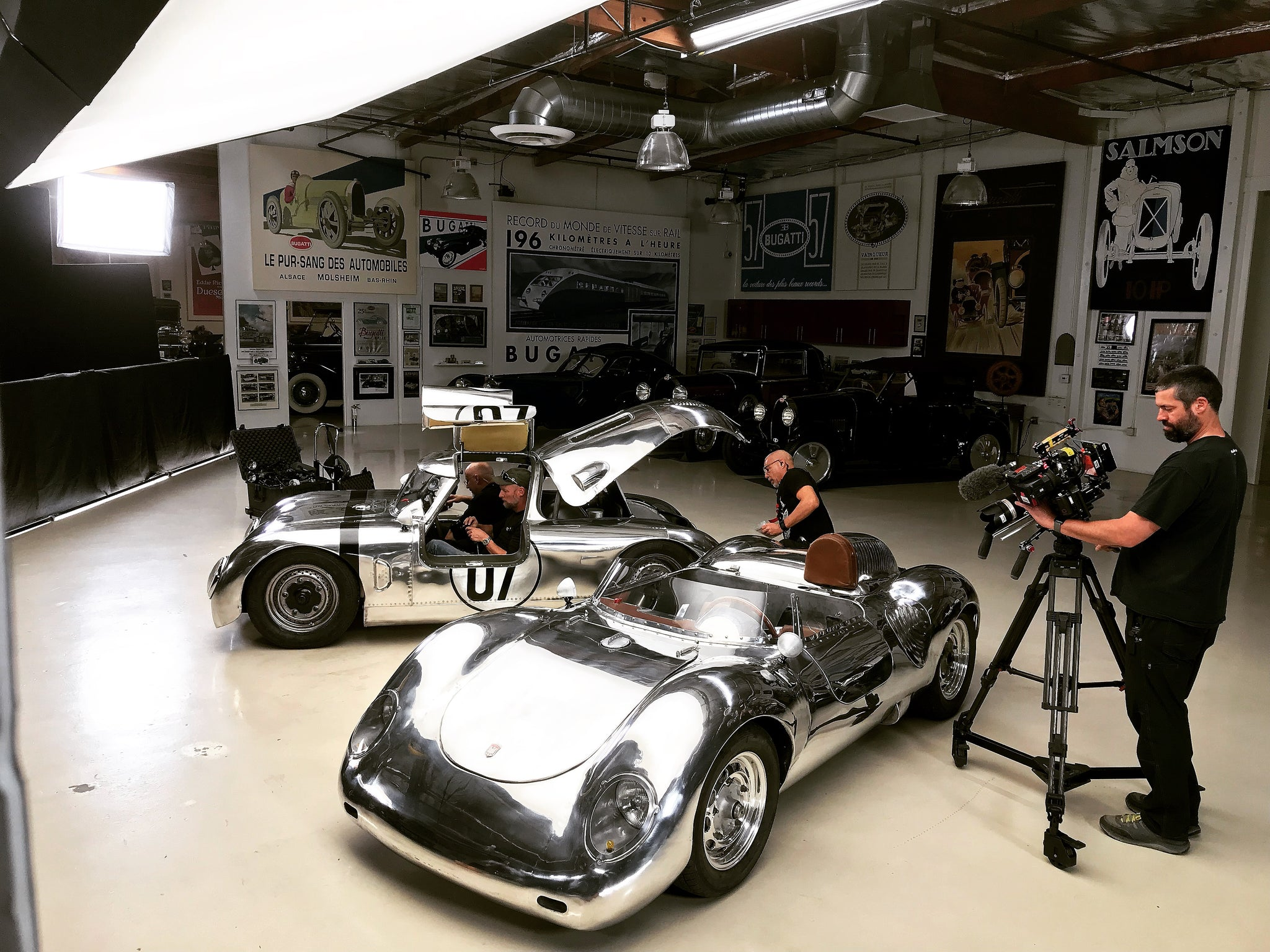 Runge Cars On Jay Leno's Garage