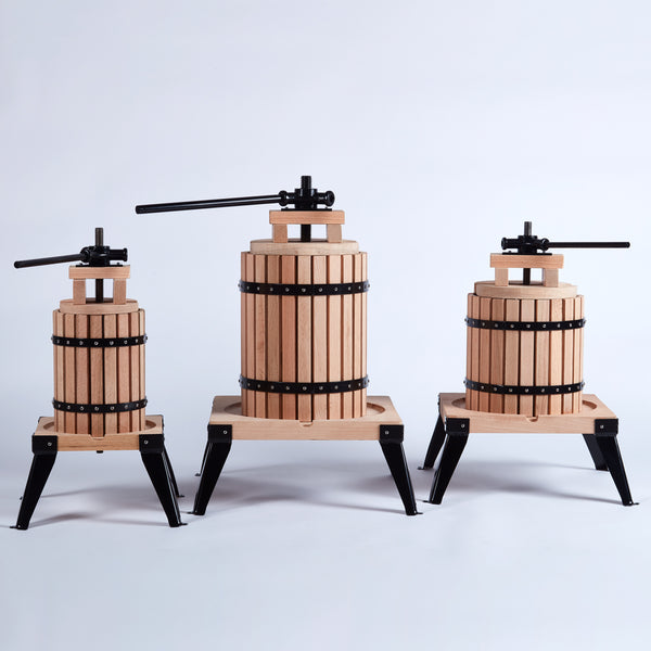 6 Litre Oak Fruit Press