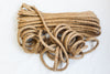 3 Ply Rope Natural Twisted Jute 15 Metres 8mm 3 Pack