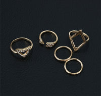 Rhinestone Gold Ring For Women , ring , Tofana , Tofana Fashion and Jewelry -  - Tofana online store