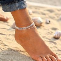 Antique Big Blue StoneAnklet For Women , anklet , Tofana , Tofana Fashion and Jewelry -  - Tofana online store