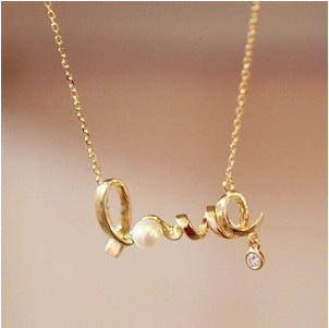 Sweet 'LOVE' Necklace For Your Love , necklace , Tofana , Tofana Fashion and Jewelry -  - Tofana online store