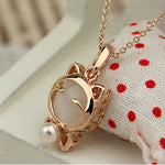 Cute Lucky Cat Eyes Necklace For Women , necklace , Tofana , Tofana Fashion and Jewelry -  - Tofana online store